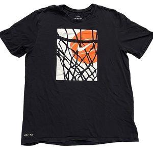 THE NIKE TEE Athletic Cut Dri-Fit T-Shirt Size XL